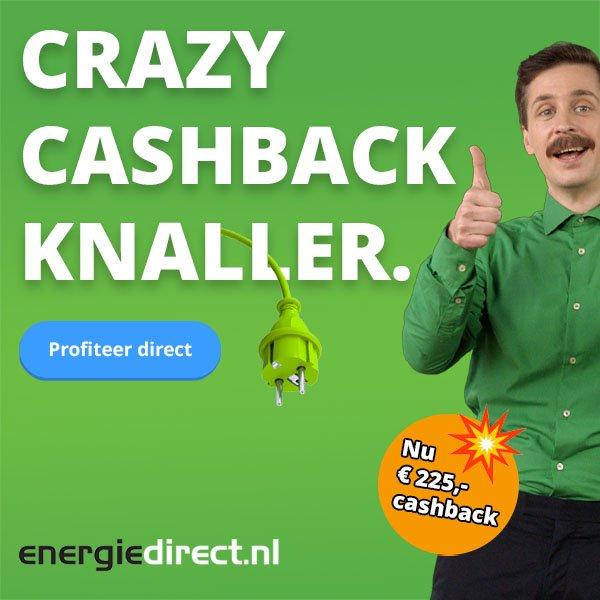 Crazy CashBack energiedirect