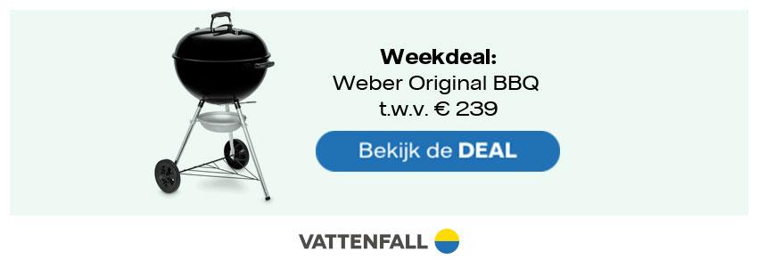 Weber BBQ Vattenfall